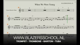 When We Were Young - Trumpet (Real Trumpet Sound)