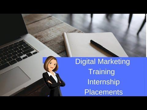 Digital Marketing Training  Internship  Placements 2019
