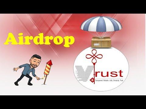 $26 dólares no Airdrop Bot da V-Trust