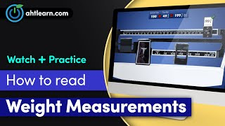 LearningTools: Reading Weight Measurements on a Physician Mechanical Beam Scale