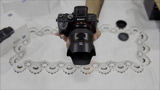 Sony Alpha a7 III  |  ZEISS Batis 25mm f/2 | Unboxing 4K