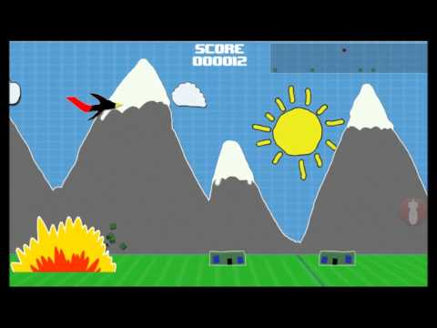 Video of Doodle Bomber stickman war