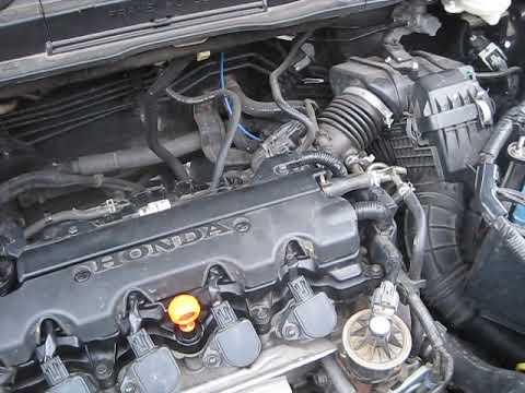 Фото к видео: honda crv сравнение двигателя R20A2 и K24Z2
