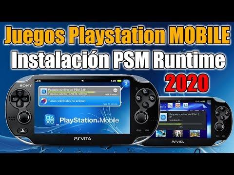 PSM Runtime 2.01 para Juegos Playstation MOBILE en PSVITA - 2020