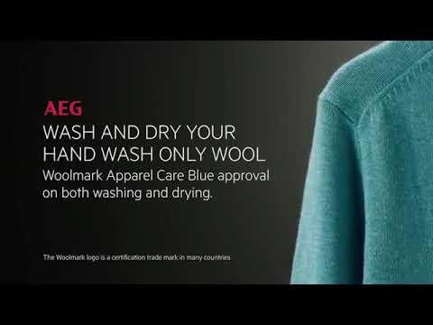 AEG Freestanding Washing Machine L6FBJ741N - White Video 3