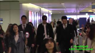 Lee MIn Ho departs from Hong Kong to Incheon Airport 20150322