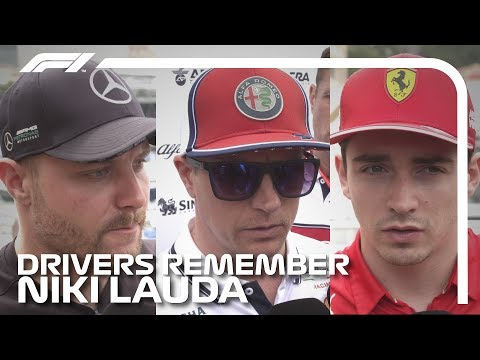 F1 Drivers Remember Niki Lauda | 2019 Monaco Grand Prix
