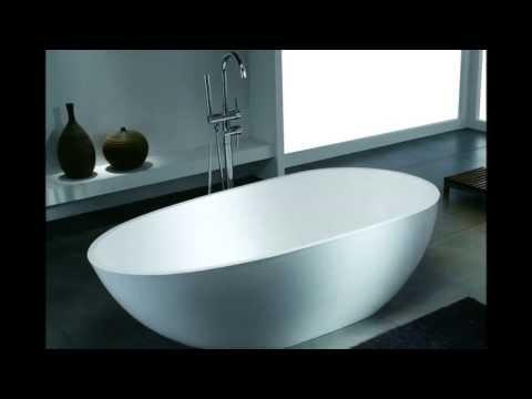 Die exklusive freistehende Badewanne aus Mineralguss von Bädermax