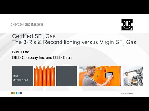 SF6 Gas, the 3R's and Reconditioning