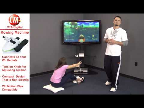 Makers Of Wii Bowling Ball Bring You Wii Rowing Machine