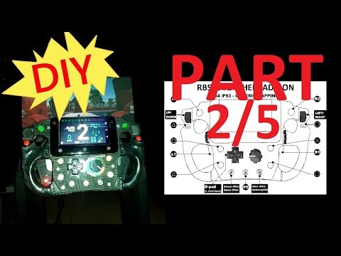 Tm Ferrari F1 Wheel Mod First Test Run Nextion 3 2 Screen Arduino