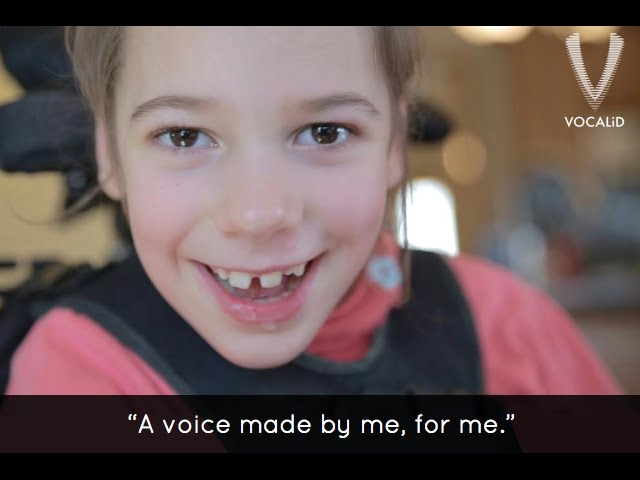 Technology Gives Unique Voices to Those Who Can't Speak