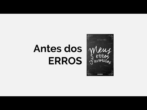 Leitura Meus 5 erros favoritos | Antes dos erros