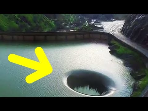 The Mystery Of The Hole In Lake Berryessa Is Finally Solved