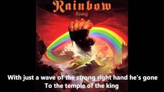 Rainbow   Temple Of The King Lyrics