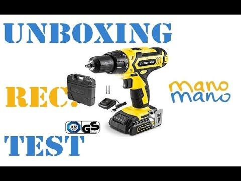 Unboxing,Recensione e Test Trotec Pscs in collaborazione con ManoMano