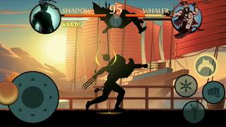 Shadow fight 2 shadow vs wasp bodyguards intrlude match HD gamplay