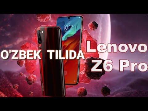 LENOVO Z6 PRO - O'ZBEK TILIDA / VLOGGERLAR UCHUN SMARTFON !!!