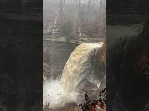 Clifty Falls after some serious rain