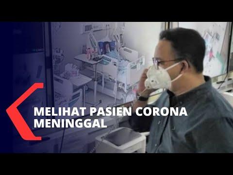 Gubernur Anies Lihat Pasien Corona Meninggal di RSUD Cengkareng