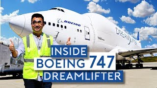 Inside the Boeing 747 Dreamlifter
