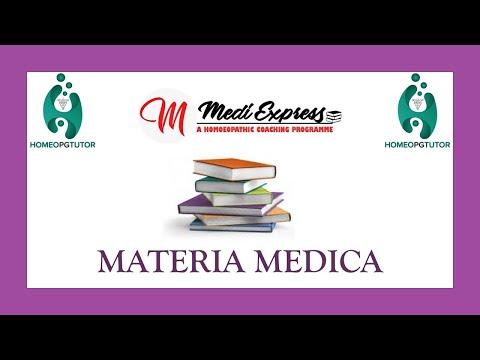 Materia Medica MCQs