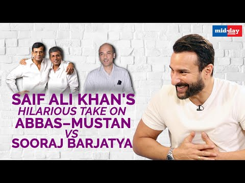Saif Ali Khan's hilarious take on Abbas Mustan Vs Sooraj Barjatya | Sit With Hitlist