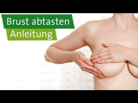 Die Erhöhung der Brust mit den Löchern