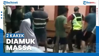 Viral 2 Kakek Terduga Pelaku Pencabulan Anak Diamuk Massa di Bogor
