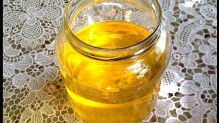 Ghee selbstgemacht  ( Butterschmalz ) Clarified Butter