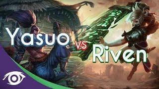 1v1 Mid: Yasuo vs Riven [Champion Rap Battles]