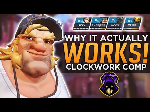 Overwatch: Why it Actually WORKS! - Clockwork Vendetta Comp