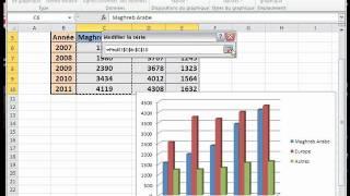 Créer Et Modifier Un Graphique Excel 2010.wmv