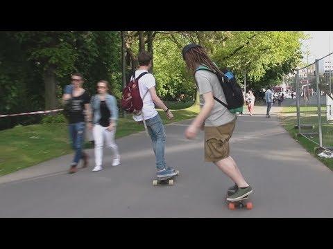 Longboarden mit ungespielt in Köln! | DnersTag
