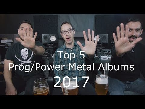 Top Prog Power Metal Albums of 2017 – The Music Box – Album Reviews