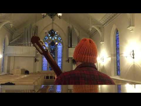 This is a video I recorded of me practicing in a chapel with some good acoustics. The piece is by Fernando Sor in Classical Spain. Enjoy!