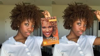 QUARANTINE MADE ME DYE MY NATURAL HAIR!! | BLACK TO LIGHT BROWN NO BLEACH |