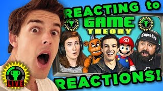 MATPAT REACTS to YOUTUBERS REACT to GAME THEORY!