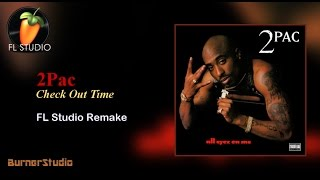 2Pac - Check Out Time (Instrumental Remake)