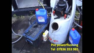 preview picture of video 'power flushing chester'