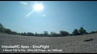 FPV Freestyle - ImpulseRC Apex - EmuFlight - T-Motor F40 Pro - Ethix P3 - Trying to stay dry