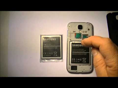 Battery Replacement Samsung Phone (Galaxy S4)