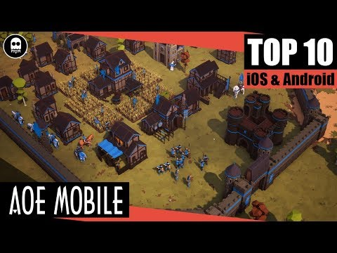 [GAME REVIEW] AOE MOBILE |Top 10 game mobile chiến thuật RTS đồ họa cực khủng năm 2018