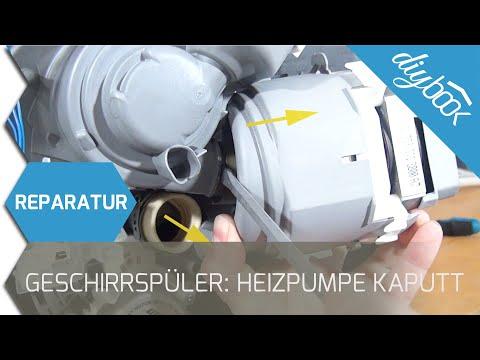 Bosch Geschirrspüler -  Heizpumpe tauschen