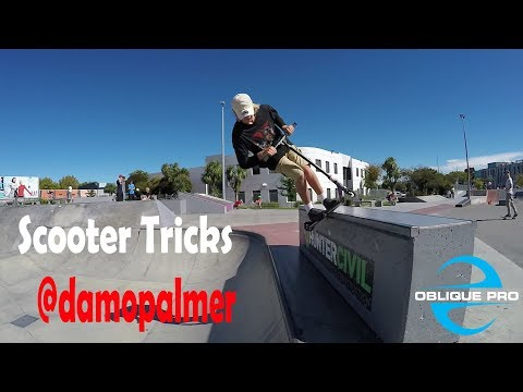 Scooter Tricks by @Damo