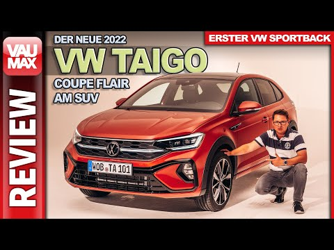 2022 VW Taigo R-Line – Sitzprobe & Details zum NEUEN SUV Coupé von Volkswagen