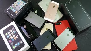 My Mega iPhone Collection 2017!