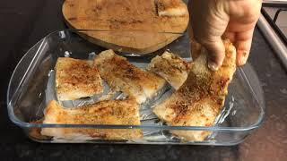 OVEN BAKED FISH FILLET | Baked Cod Fish QUARANTINE LOCKDOWN RECIPE