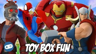 Avengers Infinity War Disney Infinity Toy Box Fun Gameplay Part 7