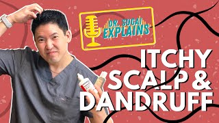 Dr. Sugai Explains: Itchy Scalp and Dandruff- What Shampoos to Consider